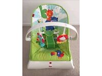 Fisher Price Rainforest baby bouncer seat