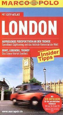 MARCO POLO Reiseführer London mit Szene-Guide, 24h Actio... | Buch | Zustand gut (Guide Reisen)