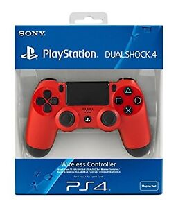 Brand New PS4 Wireless DualShock Controller - Red