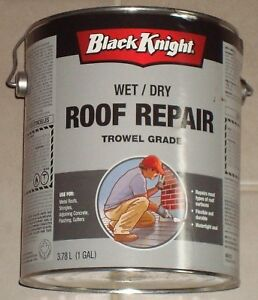 Roof Repair 3/8 to 1/2 full can, as is