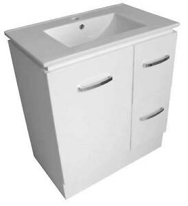 Gen 750mm Floorstanding Vanity & Ceramic Top Paradise Campbelltown Area Preview