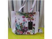 Small Ted baker floral tote bag