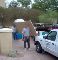 2 guys needed to carry drywall for approx.1 hr -Monday morning