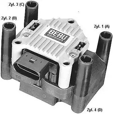 Ignition Coil BERU ZSE003