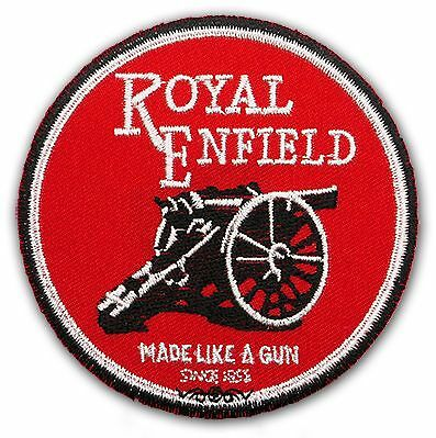 ROYAL ENFIELD Motorcycle Marque Embroidered Patch - NEW
