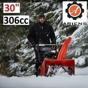 """NEW ARIENS 30"""" GAS SNOW BLOWER 921049 230538005 2-STAGE ELECTRIC START DELUXE 30 EFI 306cc"""