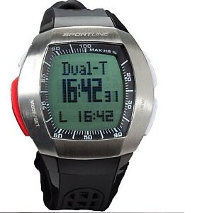 Sportline Duo Exercise Watch Heart Rate Monitor