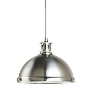 New Sea Gull Lighting 65086-962 Two Light Pendant Pratt Street Metal Collection (Pick-up Only) - PU8