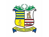 Players Wanted Solihull Moors Sunday men's team