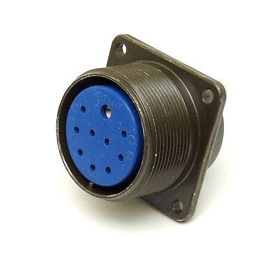 Amphenol 97-3102a24-21s Bulkhead Socket 10-pin