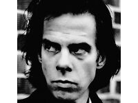 Nick Cave concert ticket O2