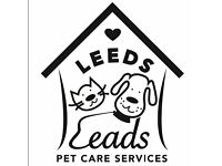 Leeds Leads Pet Care - Dog Walking / Dog Walker & Pet Sitting / Pet Sitter