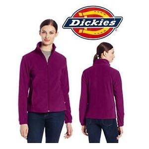 NEW DICKIES JACKET WOMEN'S LG PHLOX PURPLE - POLAR FLEECE 103852569