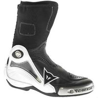 NEW-DAINESE AXIAL PRO,MOTORCYCLE BOOTS in BLACK,size 9 us 42euro