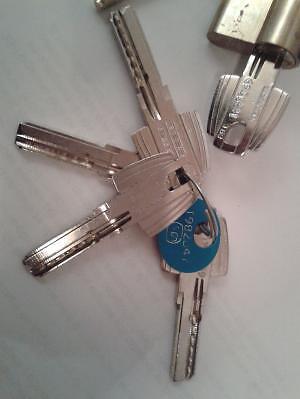 Bomb n de cerradura tesa con 5 llaves otras ventas en - Bombin cerradura tesa ...