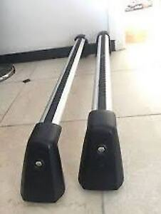 2x Mercedes Roof Racks for E350 Coupe and R350