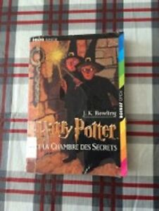 Livre book Harry Potter francais chambre secrets poche pocket
