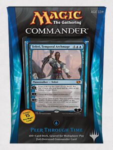 Mtg Magic the Gathering 2014 Commander Deck Peer Through Time