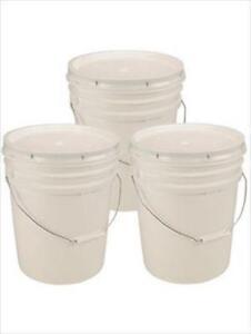 5 Gallon Food Grade Buckets