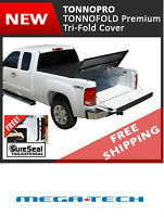 Tri Folding Truck Tonneau Covers From TonnoPro FREE SHIPPING