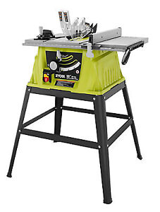 RYOBI 10-inch, 15 Amp Table Saw with Stand (BRAND NEW IN BOX)