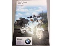 BMW R1150RT Motorcycle Manual Wanted