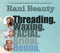 Rani Beauty Salon: Threading, Waxing and Facials