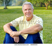 Mature Brampton Male looking for Mature Caucasian M Friends 50+