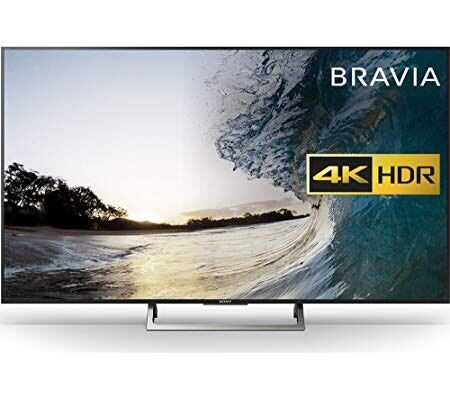 79f3fbe029d Sony Bravia 55 inch smart 4K ultra HD HDR LED TV KD55XE8396 RRP £800