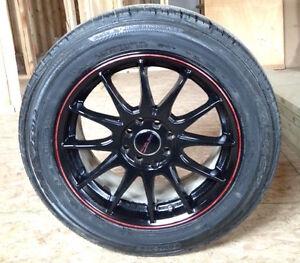 Set of Falken Tires with Street Gear Wheels