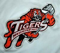 Wanted Game Worn Medicine Hat Tigers Jersey
