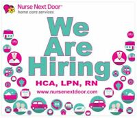 Health Care Aides! Choose a Career with Us! Safer & Less Rushed!