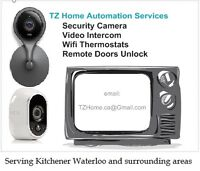 KW Wireless Security Camera - Wifi Thermostat - Remote Door Lock