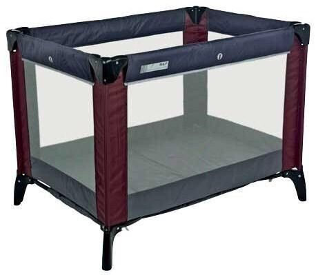 Mamas and Papas Classic Travel Cot & Play Pen - Plum/Grey