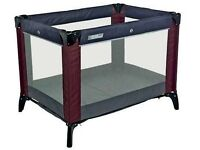 Mamas & Papas Travel Cot with additional mattress