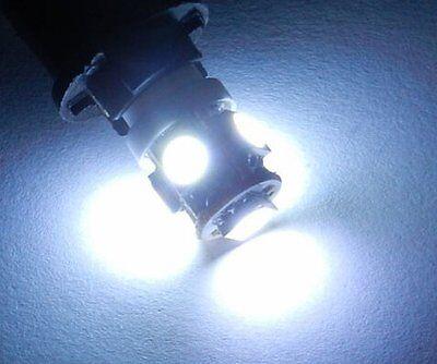 2 X 5 SMD 5050 LED Parking Light Bulbs for Royal Enfield Bullet. White Color for sale  DELHI