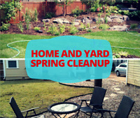 Yard clean up and more