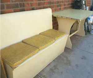 Retro kitchen bench seat Largs Bay Port Adelaide Area Preview