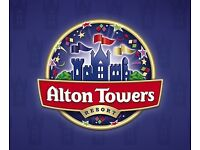 Alton towers tickets x2 11/09/16