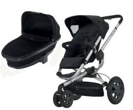 Quinny Buzz Xtra Travel System Black