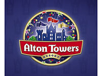 2 x Alton tower tickets from the sun for 14/6/17