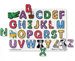 Replacement Letters for Melissa & Doug Peg Puzzle $1/letter BRAND NEW Canning Vale Canning Area Preview