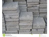 Various used and un used Patio slabs