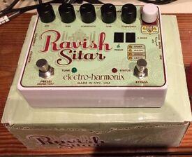 Electro Harmonix Ravish Sitar - Guitar FX pedal