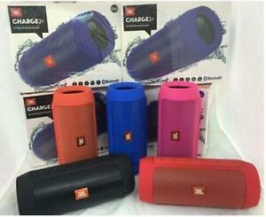 JBL Charge 2+ Splashproof Portable Bluetooth Speaker-All Colors( NEW-YEAR GIFT )