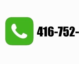 416-752 business telephone number for sale - 45 years old