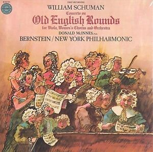 Old English Rounds-Bernstein/N.Y.Philharmonic(sealed 1978 LP) +
