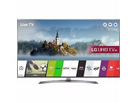 LG 43UJ750V 43 Inch Smart LED 4K Ultra HD Freeview HD and Freesat HD TV 4 HDMI
