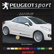 Peugeot Sport Sticker