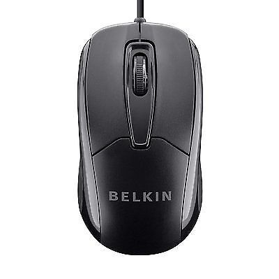 Belkin 3 Button Wired USB Optical Mouse